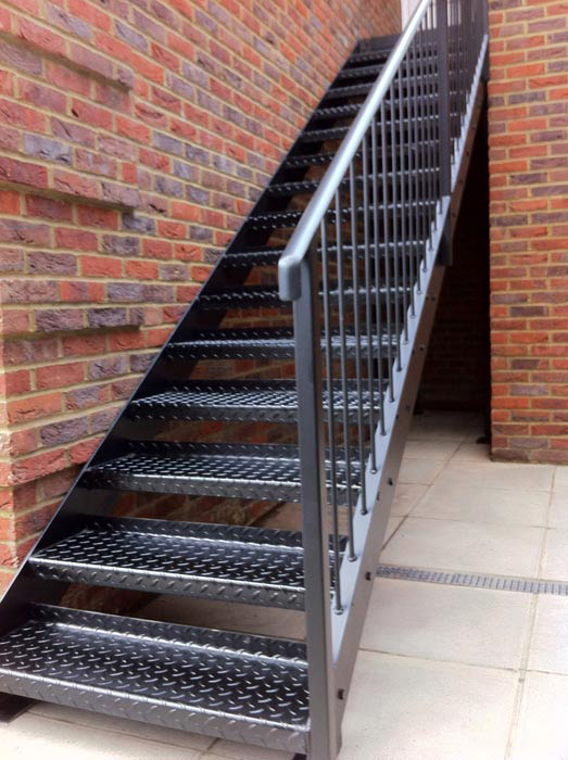 outside metal stairs   home design ideas and pictures