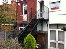 Residential Iron Staircase
