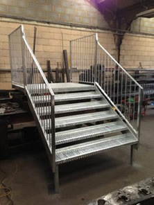Staircase in Workshop