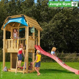 Jungle Gym Barn - Kids Garden Fort Playground
