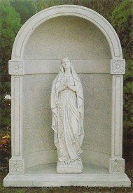 Madonna Virgin Mary garden statue